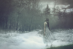 The Return of Persephone (kaiyanp) Tags: portrait snow toronto photomanipulation photoshop painting photography spring artistic contemporaryart surrealism fineart surreal photograph portraiture concept conceptual mythology persephone photoshoots fineartphotography conceptualphotography
