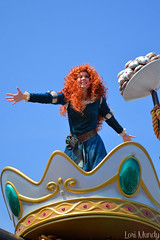 Festival Of Fantasy (disneylori) Tags: mainstreet princess disney parade disneyworld merida pixar brave characters wdw waltdisneyworld magickingdom mainstreetusa disneyprincess disneycharacters disneyparade disneyworldparade facecharacters waltdisneyworldparade bravecharacters festivaloffantasyparade