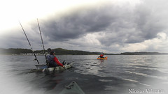Good Sky (Nicolas Valentin) Tags: sea wild sky fish water weather freedom scotland fishing scenery aqua europe kayak alba scenic adventure e kayaking oban wilderness westcoast ecosse kayakfishing aplusphoto kayakscotland kayakfishingscotland