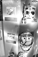 Evolution Of The Mask (Bill Maksim Photography) Tags: winter etched food toronto ontario tower classic ice cup hockey glass roy cn gold penguins hall goal goalie downtown tour adams fame gear mario location ceiling arena kings richard stanley winner hours rocket bruins olympic kane hull messier leafs canadians flyers orr canadiens address presidents hold esposito jagr malkin crosby hasek howe gretzky yzerman bossy forsberg overtime maksim ovechkin reigning lundqvist hhof sakic datsyuk connsmythe