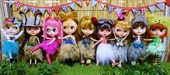 Hula Girls' Line-up
