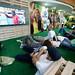 Fan Zone no aeroporto Salgado Filho