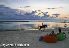 Villa Ombak Sunset_9 (Carrie Kellenberger I globetrotterI) Tags: sunset horses love beach indonesia island islands romance beaches romantic horsebackriding gilitrawangan giliislands romanticsunset remoteislands indonesianbeaches