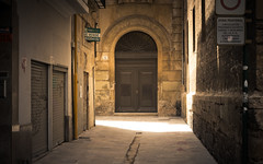 Door and light (jomito84) Tags: street door light urban tourism luz valencia calle spain puerta urbano turismo 2014