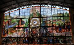 Estacion de Abando (Bilbao) (Ander B) Tags: bilbao estacion bizkaia vidriera euskalherria bilbo basquecountry abando