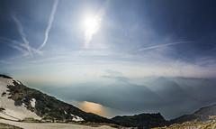 Garda che foto! (Giovaneskywalker) Tags: sky lake mountains trekking lago freedom garda blu cielo montagna altissimo