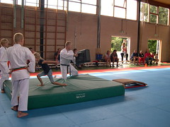 """zomerspelen 2013 karate clinic • <a style=""""font-size:0.8em;"""" href=""""http://www.flickr.com/photos/125345099@N08/14427402263/"""" target=""""_blank"""">View on Flickr</a>"""