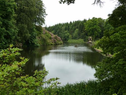 Manderston's lake