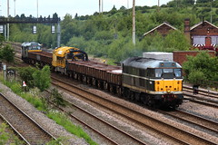 DCR Class 31 - 31190 (D5613) - Toton South - 6Z31 - 2014 (NewSpectrum) Tags: electric diesel rail railway loco brush class locomotive 31 freight dcr 2014 toton 31190 d5613 railvac 6z31