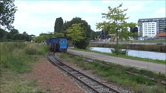 TTVS Smal diesellocomotive shunting at the starting point of the railway line. (Franky De Witte - Ferroequinologist) Tags: de eisenbahn railway estrada chemin fer spoorwegen ferrocarril ferro ferrovia