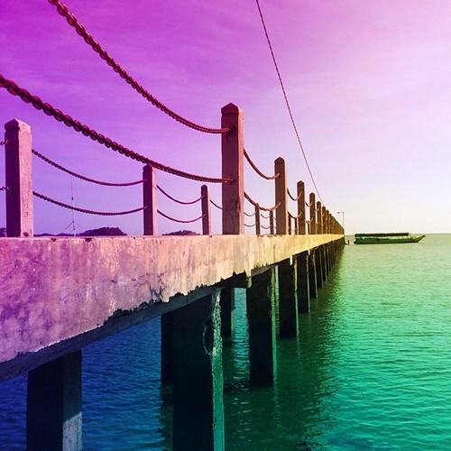 A bridge in Riung 17 Islands Marine Park, Indonesia #ersur #iphonesia