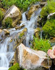 Roadside stream (joycarl) Tags: water waterfall streams rockystream