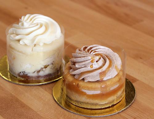 Apple and Pumpkin Mini Cheesecakes