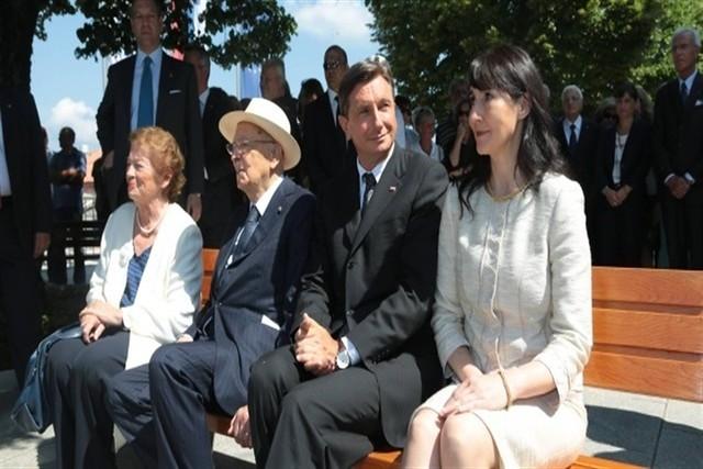 Il Presidente Giorgio Napolitano il Presidente della Repubblica di Slovenia Borut Pahor