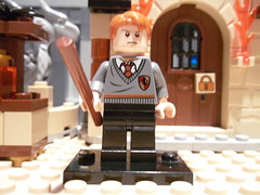 Lego Ron Weasley - Purist Custom (Random_Panda) Tags: lego harrypotter