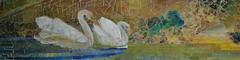 Metropolitan Museum of Art - American Wing - Garden Landscape and Fountain - Mosaic Detail - Louis Comfort Tiffany (jrozwado) Tags: