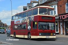 East Yorkshire 695, P577EFL. (EYBusman) Tags: street bus st john volvo coach yorkshire east depot motor hull northern services stagecoach bridlington counties palatine olympian viscount cambus eyms countybus eybusman p577efl