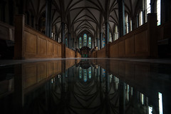 Temple Church Reflections, London. (theboseographer) Tags: reflection church window glass bar temple call inner stained barristers innertemple abhimanyubose boseography abhimanyubosephotography publishmyphoto