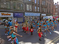 Rhythm Is A Dancer (Bricheno) Tags: girls woman girl scotland women dancer escocia parade mardigras paisley szkocja schottland scozia cosse  esccia   bricheno scoia scottishafrocaribbeancarnival