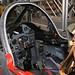 Belgian Air Component Alpha Jet1B AT33 inside cockpit