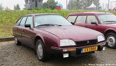 Citron CX 25 GTI Turbo 1984 (XBXG) Tags: auto old france classic car race vintage french automobile track euro citron cx voiture turbo mans le 25 1984 frankrijk gti bugatti circuit 72 lemans ancienne 2014 sarthe franaise citro citroncx eurocitro