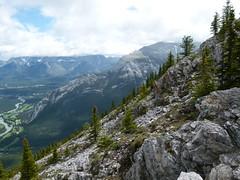 Mountain Side (Toats Master) Tags: mountains nature landscape rockies view scenic alberta banff majestic sulphurmountain banffnationalpark