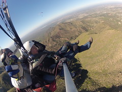 Parapente 5 - Leo in the background