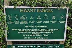 Fovant Badges Fovant Wiltshire (Richard.Crockett 64) Tags: camp training chalk military worldwarone salisbury 1991 ww1 badges wiltshire britisharmy 2014 thegreatwar fovant