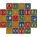 Brick alphabet