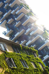Bosco Verticale III (China Chas) Tags: italy milan green tower architecture engineering iphone arup 2014 boscoverticale