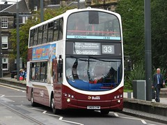 Lothian Buses 927 (SN09CVM) - 15-08-14 (peter_b2008) Tags: buses volvo edinburgh transport wright coaches 927 lothianbuses buspictures b9tl eclipsegemini2 sn09cvm