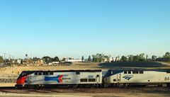 Amtrak 156 leading Southwest Chief #4 (hupspring) Tags: railroad heritage train diesel engine amtrak locomotive southerncalifornia orangecounty placentia phase1 passengertrain southwestchief p42 amtk amtrak156 amtk84 amtk156 bnsfsanbernardinosub