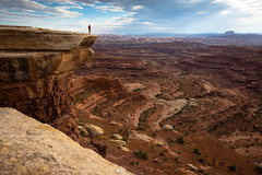 The White Crack - Canyonlands, Utah (Summit42) Tags: summer hot utah jake canyonlands whiterim islandinthesky sohot whitecrack