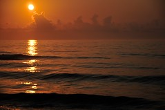 South Padre Island TX 07-24-14 091 (Christopher Stuba) Tags: beach clouds goldenhour morning ocean sky summer sunrise texas
