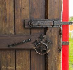 The Church Door (Wade.J.) Tags: door church newfoundland nikon lock entrance stpauls trinity tamron anglican latch d800 tamron2875