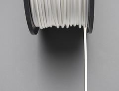 ABS Filament for 3D Printers - 3mm Diameter - White - 1KG (adafruit) Tags: accessories abs filament 2061 3dprinting adafruit