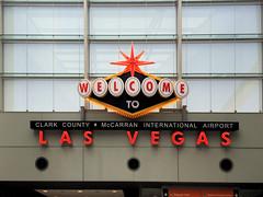 Back at Las Vegas Airport