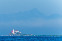 Lighthouse (csirnak) Tags: ocean sea lighthouse nature water landscape natural pacific wildlife sony wave 300mm 28 princerupert waterscape a77ii