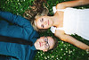 Emily+ Brandon (epiøne) Tags: life flowers portrait people green nature beautiful minnesota canon outdoors engagement dof bokeh minneapolis 5d greass