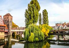 Robert Emmerich - 15 HDR Panorama of a bridge in Nuremberg  (Nurnberg) - Germany (Robert Emmerich Photography) Tags: robert re emmerich robertemmerich