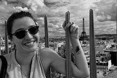 Eiffel Tower (All-photography) Tags: paris france tower monochrome de tour arc triomphe ile eiffel arcenciel effel
