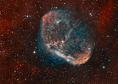 NGC6888 The Crescent Nebula (drdavies07) Tags: ngc6888 crescentnebula caldwell27