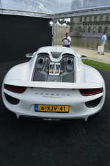2014_09_Concours_Chantilly_Porsche_918_Spyder_1 (Daawheel) Tags: france car vintage spyder porsche hybrid concours chantilly elegance 918