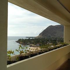 13th floor = lucky view! (N@ncyN@nce) Tags: ocean sunset hawaii bay sand paradise waves kauai aloha hanalei princeville