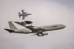 Boeing E-3B Sentry - 'LX-N90454' (JohnC757) Tags: belgium belgique belgi nato sentry 2014 awacs e3b kleinebrogel lxn90454 ebbl kleinebrogelab boeinge3bsentry belgianairforcedays