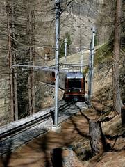 Gornergrat Bahn (Christine Amherd) Tags: schnee mountain creativity schweiz switzerland cosmopolitan dorf swiss april zermatt matterhorn ine passionate 瑞士 snwo 스위스 mypassion スイス gornergratbahn swissmountain швейцария christinescreativityphotography christinesphotography