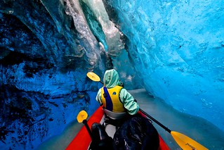 Ice cave explorer!