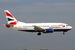 G-GFFI (GH@BHD) Tags: aircraft aviation ba boeing unionflag britishairways dub airliner 737 dublininternationalairport ggffi