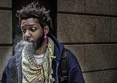 Posing... (Dario Ma) Tags: street city nyc people usa ny newyork wall america us persone ritratti