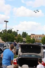 2014 Selfridge Open House and Air Show (Larry the Biker) Tags: airplane michigan jet airshow hornet f18 blueangels unitedstatesnavy harrisontownship fighterplane selfrdgeairnationalguardbase
